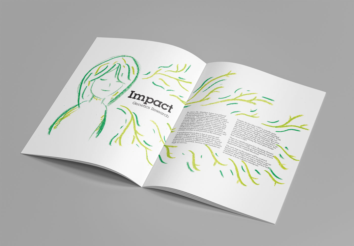 Impact section spread
